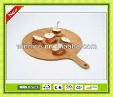 2013 new kitchen design bamboo wood cutting board plastic