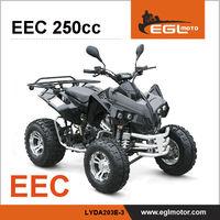 250cc Motor Atv With EEC certification