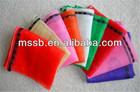 2014 new design flat plastic large mesh bags