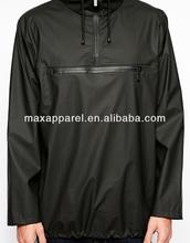 Mens Fashion Water Repellent Rain Jacket Half zipper Openning Jacket BY rain