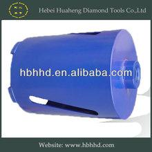 89mm 1 1/4 UNC fitting 450mm barrel length laser welded dry diamond core drill bits
