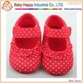 New design top quality popular atacado sapatos de bebê macias vestido