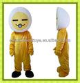 Buena calidad mascota de huevo huevo de vestuario huevo adulto traje de la mascota