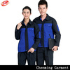 New design 35%cotton contrast color construction workwear uniform