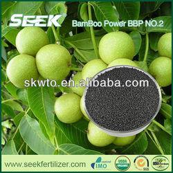 SEEK organic fertilizer as soils amendment