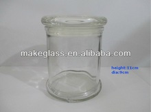 2014 newest glassware machine made Weed Stash Jar Glass Bong Stoner Gift Stash Jar Choose Your Color and Style unique glass jar