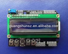 Original new 1602 LCD Keypad Shield character LCD1602 expansion board For Uno R3 mega2560 nano3.0