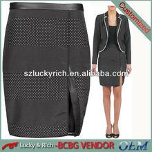 2014 latest fashion short skirt
