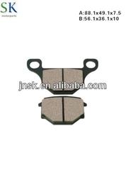 Motorcycle brake parts GS125 BRAKE PAD china manufacturer scooter