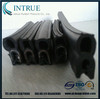 extruded rubber seal strip with metal sheet insert