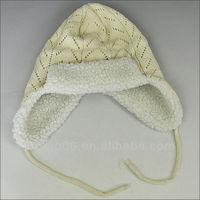 cute crochet beanie hat with braid