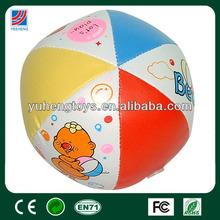 size 4 mini colorful cartoon ball