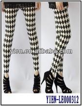 Popular And Classic Black And White Leggings Fashion Sexy Leggings Girls Pics