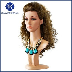 the most popular female hair training mannequin head white hairdressing