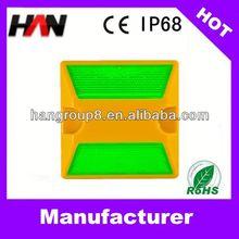 PC IP68 reflective ceramic road stud
