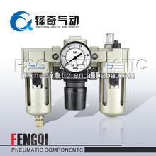 air filter and regulator FRL Three Combination