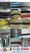 BAILI wire braided hydraulic rubber hoses SAE 100R1 and SAE 100 R2