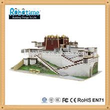 Customized architecture 3D puzzle
