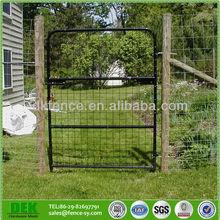 Metal Galvanized Steel Farm Fence Gate