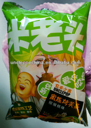 Chinese pastry kiwi fruit flavor 150g baked puffs