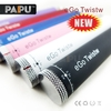 high quality Paipu best e cigarette ego twist 1300 mah ego winder vv battery variable voltage