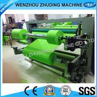 full automatic plastic film slitting machine