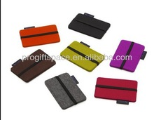 New fashion handmade bulk sale cases fabric China wholesale 2015 hot gift felt customize mobile phone cover