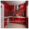 Modernos muebles de cocina con uv coated