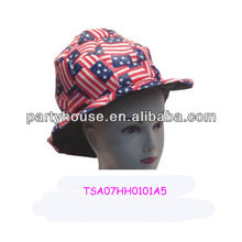 2014 The latest design colorful round top hat for party