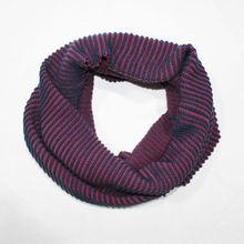 2014 lines wool & acrylic material custom men' aztec infinity scarf