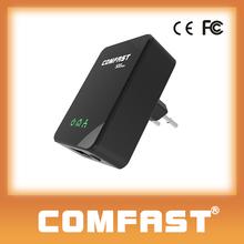 500Mbps wireless rj45 port plc Power Line Carrier modem COMFAST CF-WP500M