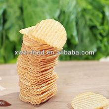 Oven potato crisps