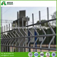 corrugated lattice dog galvanized welded wire fence panels