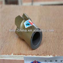China high wear-resistance threaded cross bit