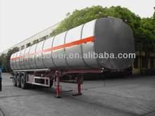 New Transportation ! Zhuowei Oil Tanker Truck Semi- Trailer ! ABS Brake System!