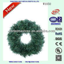 Christmas Wreath Decorative Evergreen Plastic Artificial Christmas Wreaths