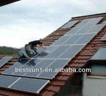 photovoltaic solar panel/10KW photovoltaic solar panel high performance/10KW panneau solaire photovoltaique