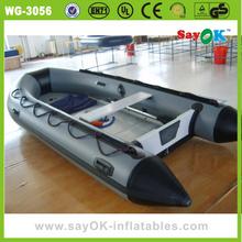 china inflatable water games flyfish banana aluminum fishing boat