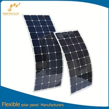 New designed monocrystalline silicon flexible solar panel for China Manufacturers