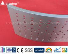 Architectural Materials Irregular Aluminum Perforated Board