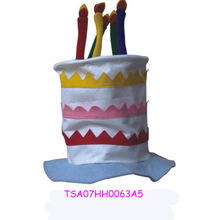New design colorful baby top hat for birthday party