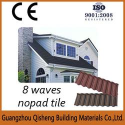 spanish stone coated metal step tile roofing sheet,asphalt roofing tile