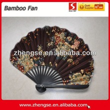 2014 New Design Promotional Delicate Bamboo Fan-Asiat Art