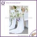 Babados tampa da cadeira de blush cadeira laços para casamentos