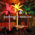 tiara de coco iluminado palmeira