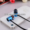 2015 fashion design metal case earbud for mobilephone
