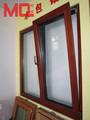 chuva de alumínio para proteção de janelas de aço design janela de caixilhos de janela de tela fábrica
