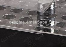 wall mounted acrylic shoe storage box,fashion made acrylic holder display