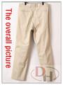 ultimo stile uomini pantaloni di cotone color kaki