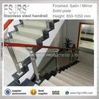 indoor wooden stair railings stainless steel railing price in modern design